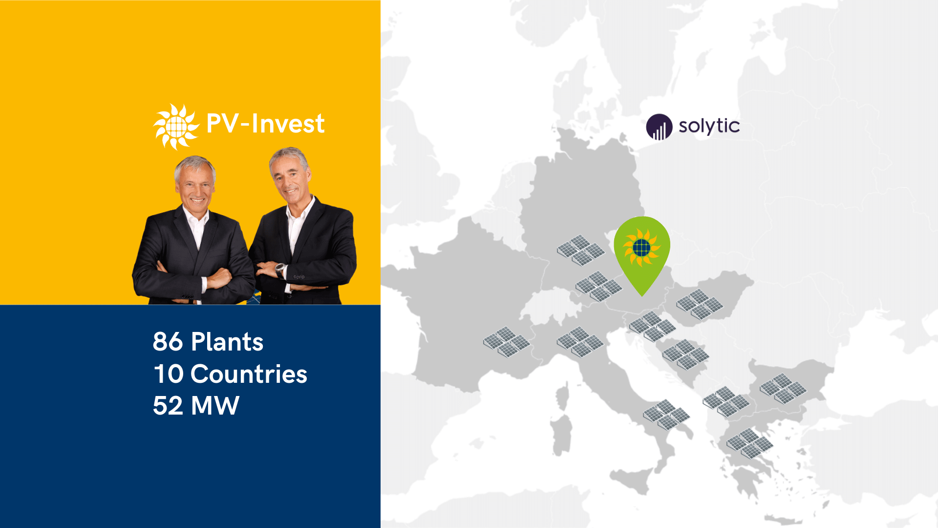 PV-Invest Plants Countries