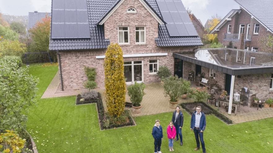 Eigenheim Solar Photovoltaik